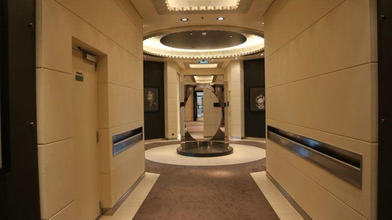 Modernes Interior mit vielen kleinen Details erwartet euch auf der MS EUROPA 2