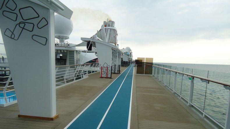 Joggingstrecke Mein Schiff 6