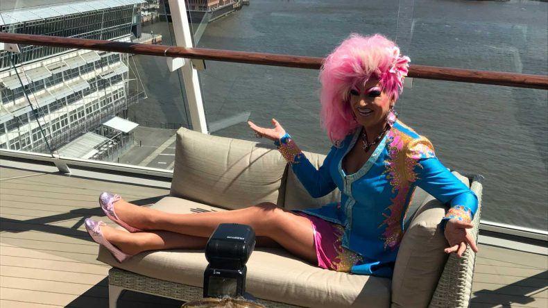 Auch Travestie Künstlerin Olivia Jones war mit von der Partie