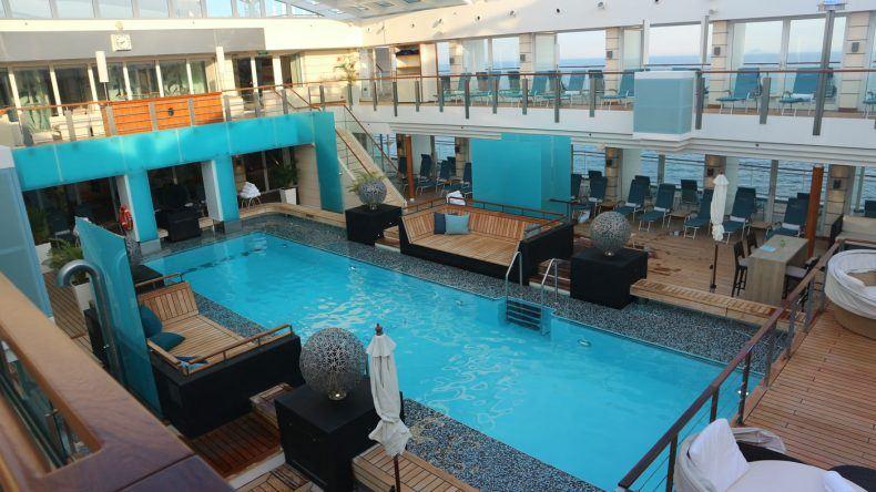 Poolbereich der MS EUROPA 2