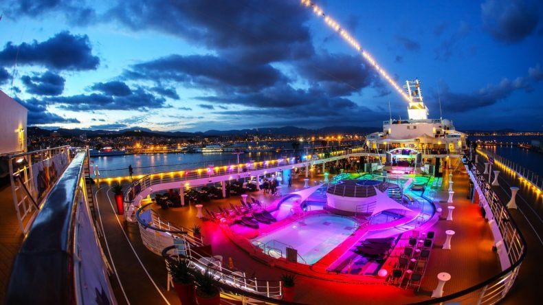 Gute Stimmung auf der Rainbow Cruise