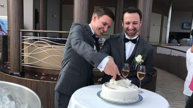 Hochzeit auf der Rainbow Cruise