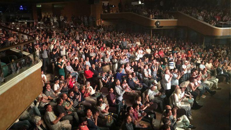 Das Theater war voll beim Auftritt von Conchita