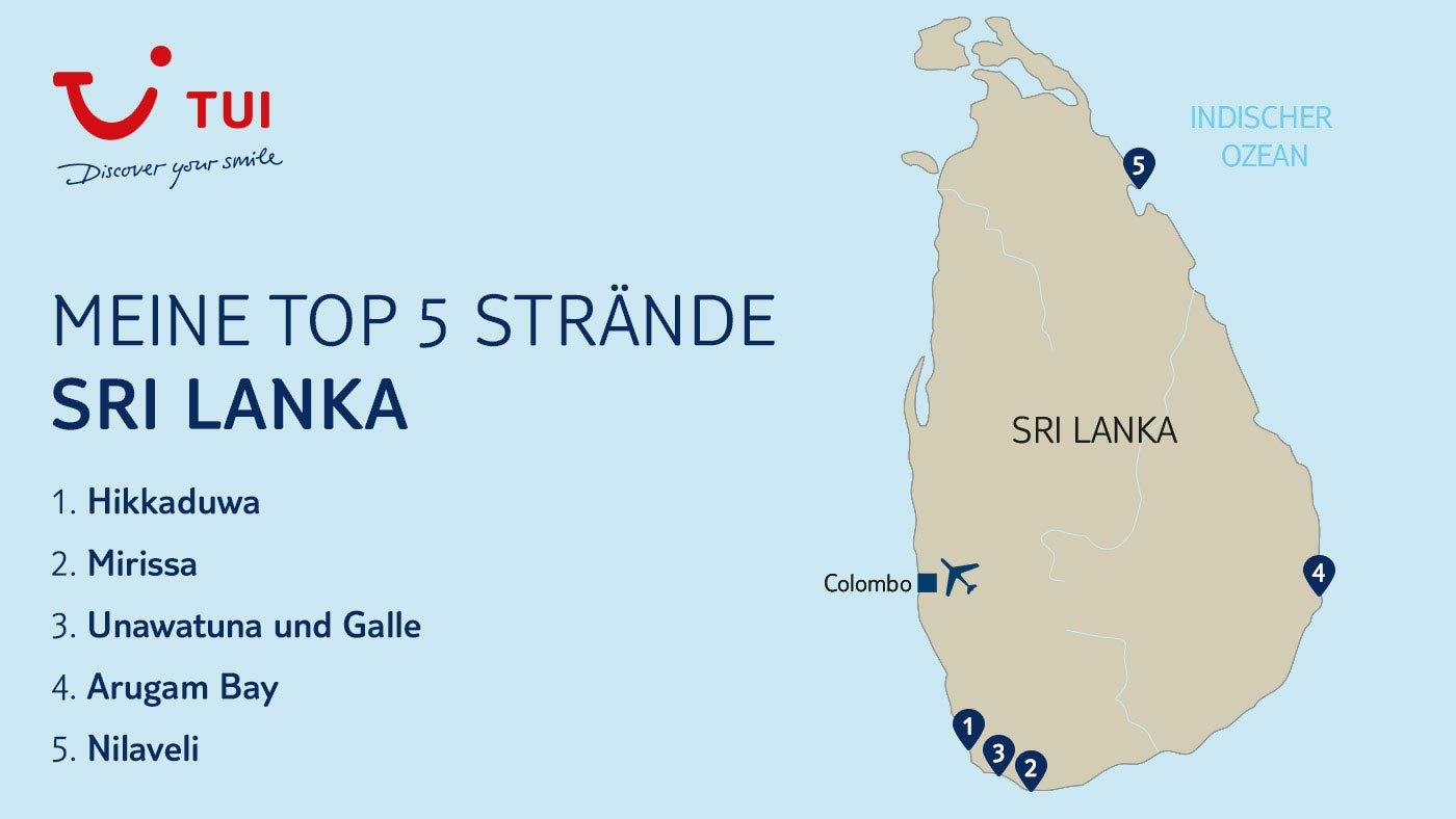 Meine Top 5 Sri Lanka Strande Tui Com Reiseblog