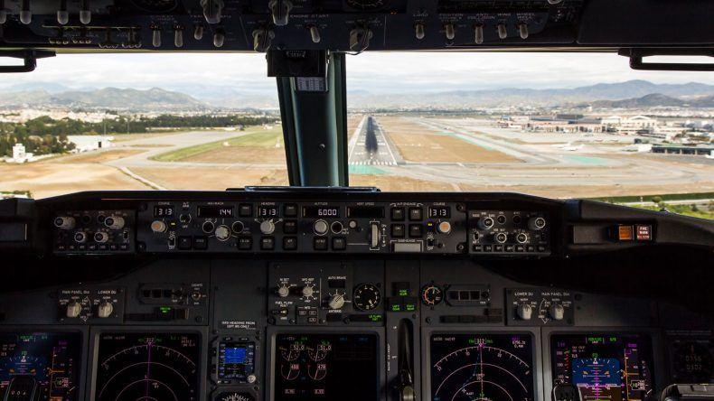 Endanflug auf Malaga