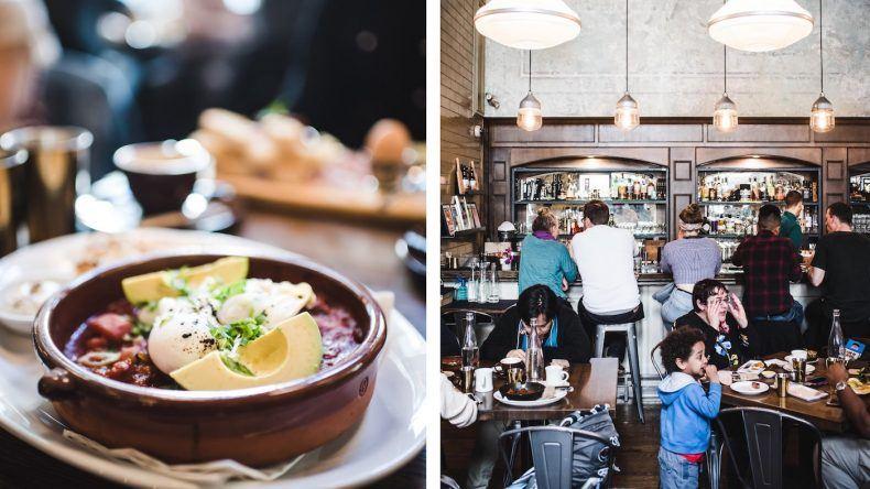 Den wohl besten Brunch der Stadt gibt's im Café Medina