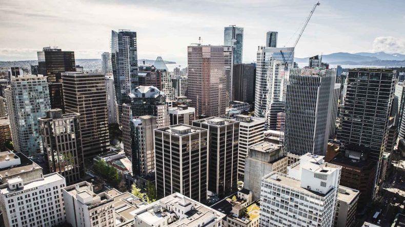 Vom 40. Stock des Vancouver Lookout hat man den besten Blick über die Stadt