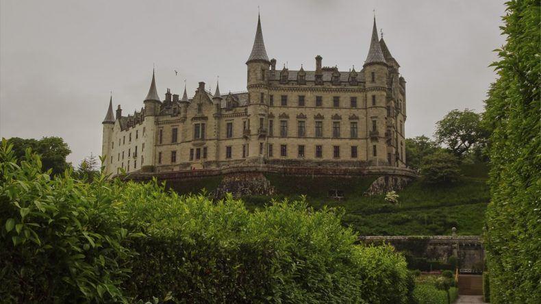 Schloss in Schottland