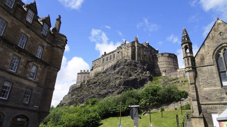 Burg von Edinburgh