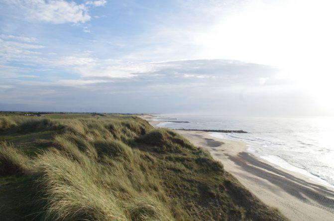 Der tolle Strand von Dänemark
