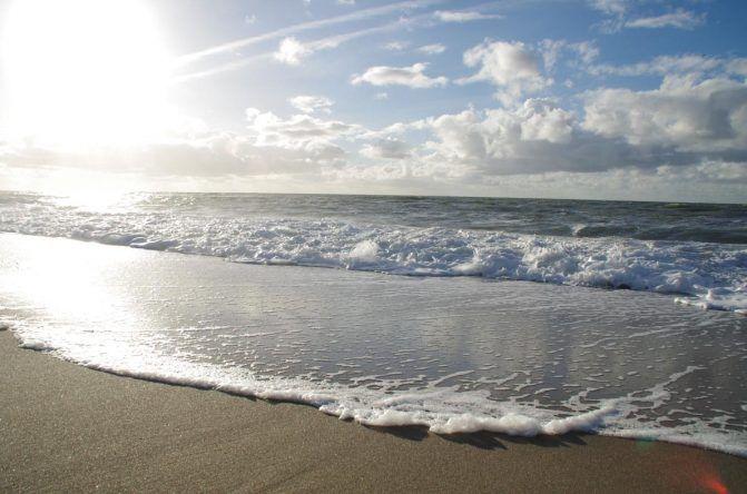 Das ruhige Meer