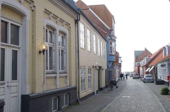 Süße Häuser in Ringkøbing