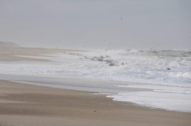 Windiger Tag am Meer
