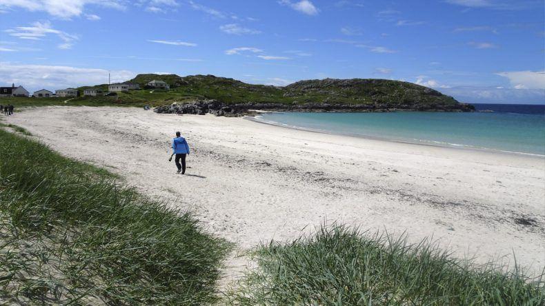 Karibikstrand in Schottland