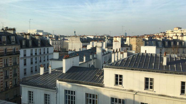 Ausblick auf Paris