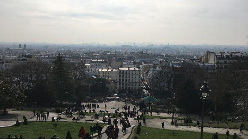 Der Ausblick von Sacre Coeur