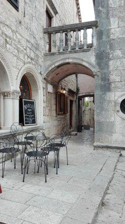 Café in Korcula