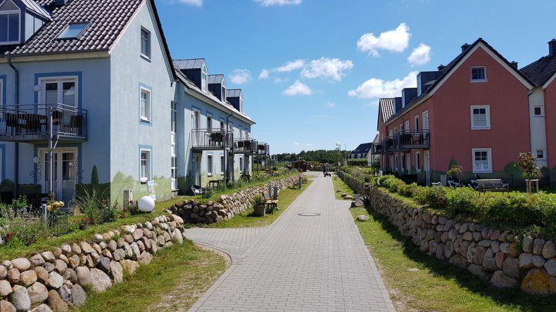 Im DORFHOTEL SYLT gibt es ausschließlich größere Ferienwohnungen - perfekt für Familien