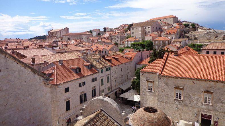 Ausblick auf die Stadt Dubrovnik