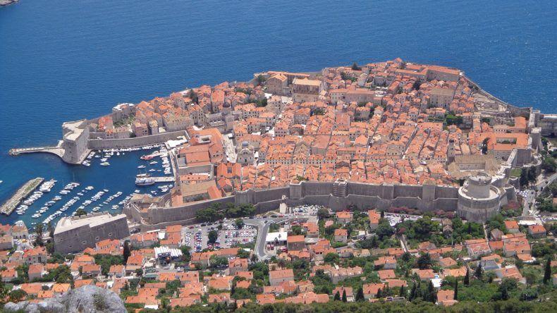 Vom Berg Srd habt ihr den besten Ausblick auf Dubrovnik