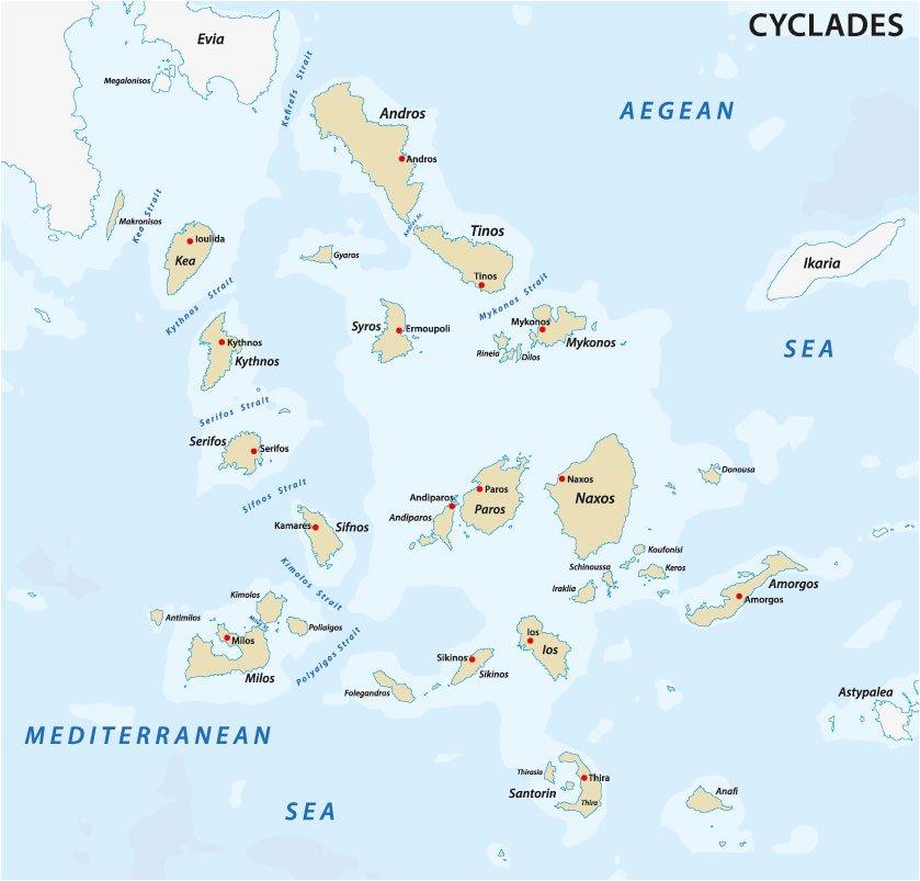 Rhodos Karte Flughafen.Die Unbekannten Inseln Griechenlands Das Inselparadies Kykladen