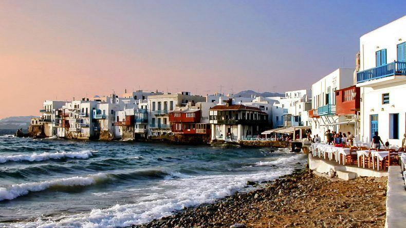 Little Venice auf Mykonos