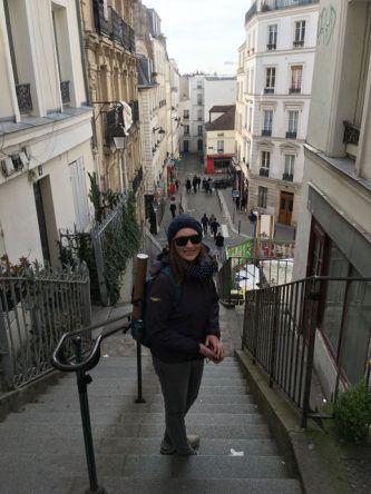 Helke in Montmartre