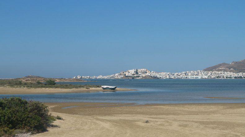 Im Hinterland von Naxos, direkt gegenüber vom Salzsee