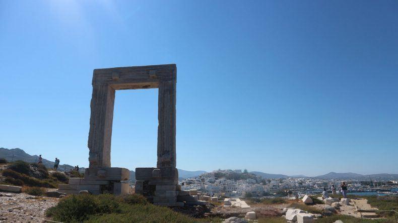 Die Portara - das berühmte Wahrzeichen von Naxos