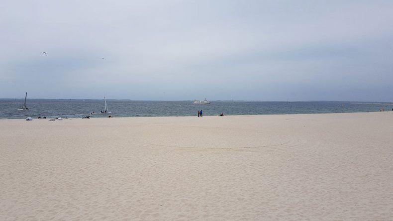 Feinster Sandstrand an der Nordspitze von Sylt