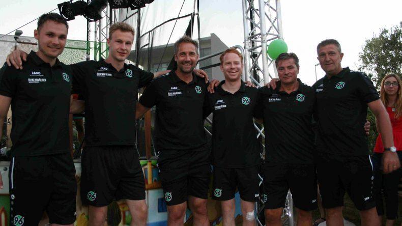 Die Trainer des Fußballcamps von Hannover 96