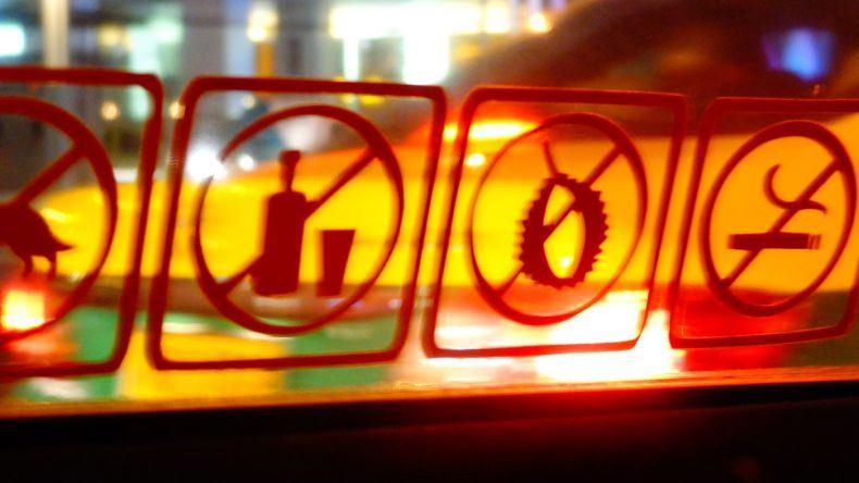 Taxifahrt in Bangkok