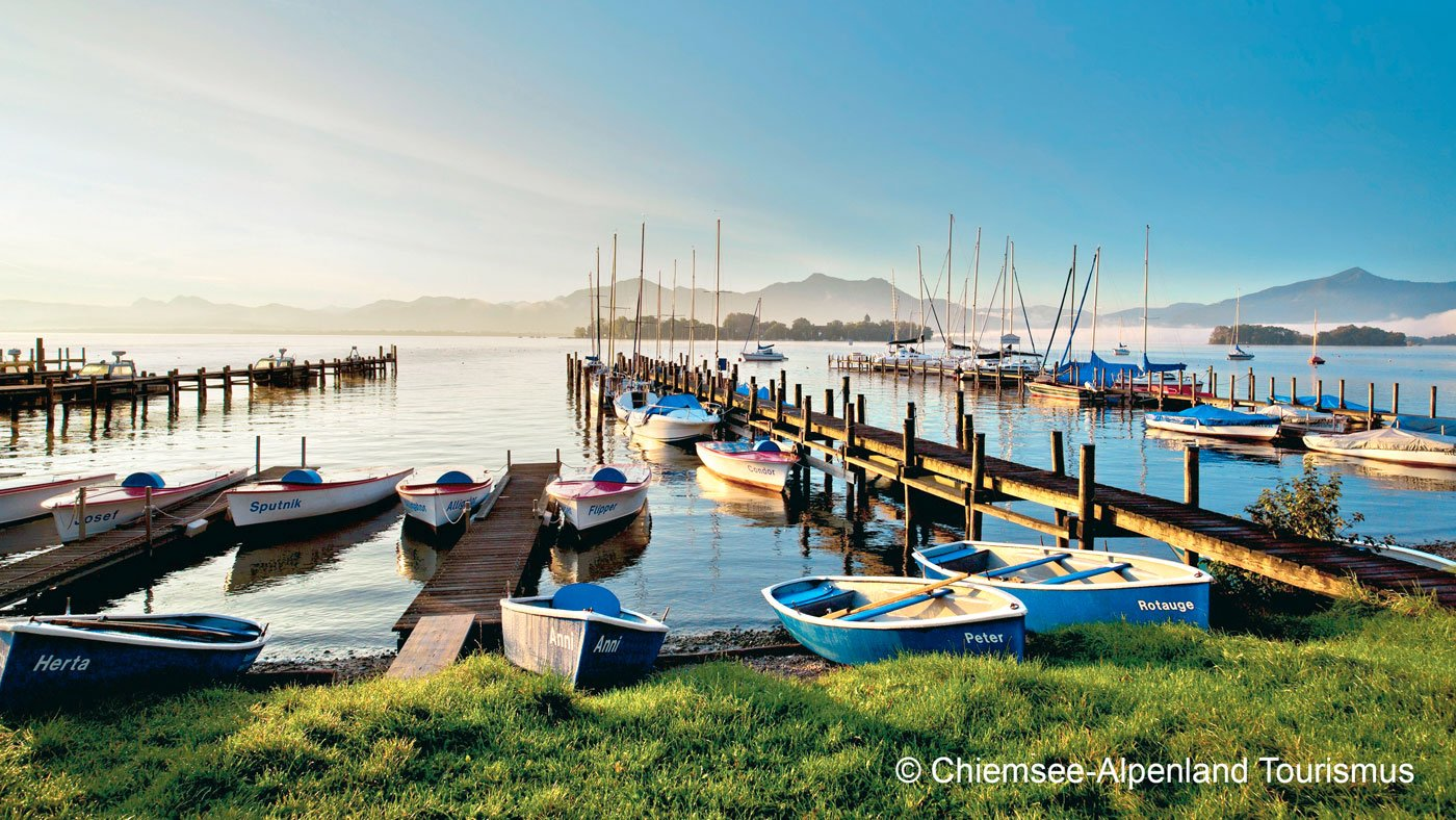Chiemsee in Bayern