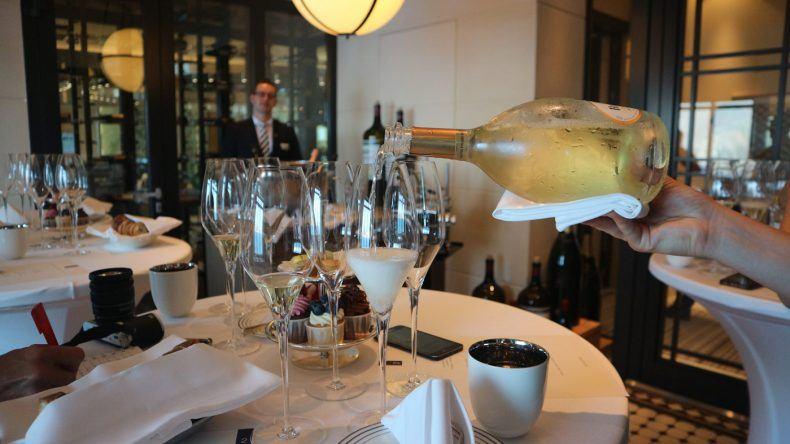 Champagner Tasting auf der MS EUROPA 2