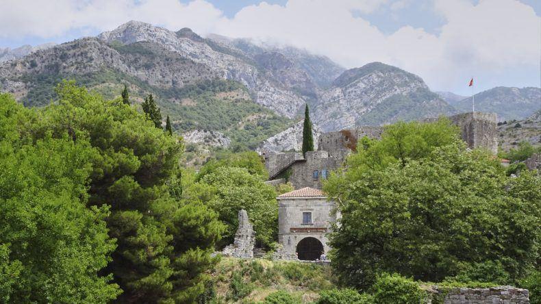 alte Stadt Bar in Montenegro