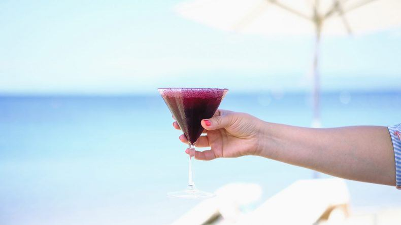 Drink am Strand