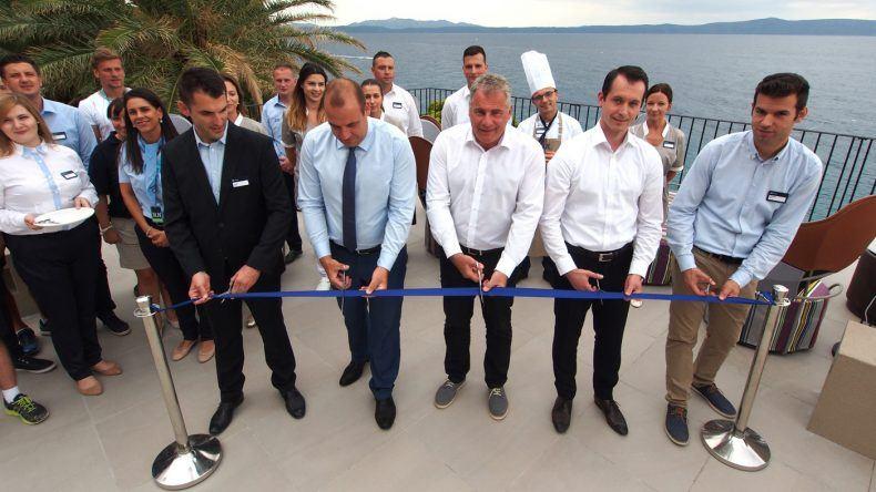 Bei der feierlichen Eröffnung des neuen TUI BLUE Jadran