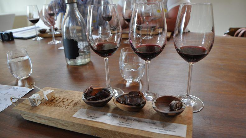 Wine Tasting in Franschhoek