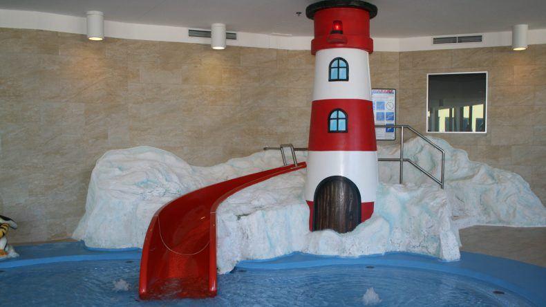 Die kleinsten Gäste haben in der Indoor-Poolwelt ihren Spaß
