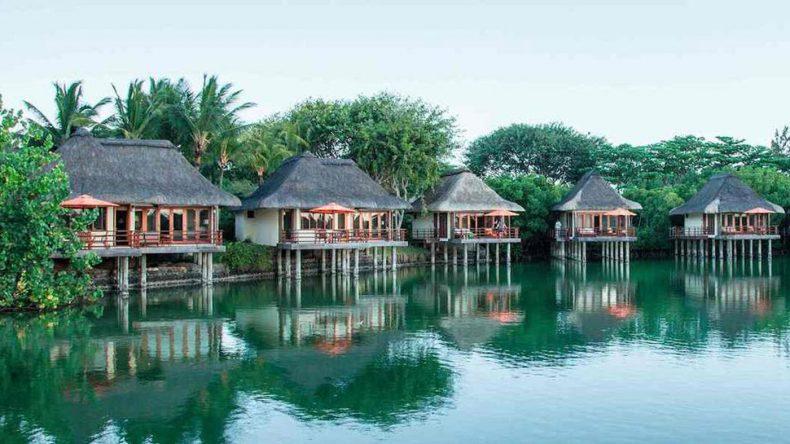 Die Junior Suiten auf Stelzen im Resort Constance Prince Maurice auf Mauritius