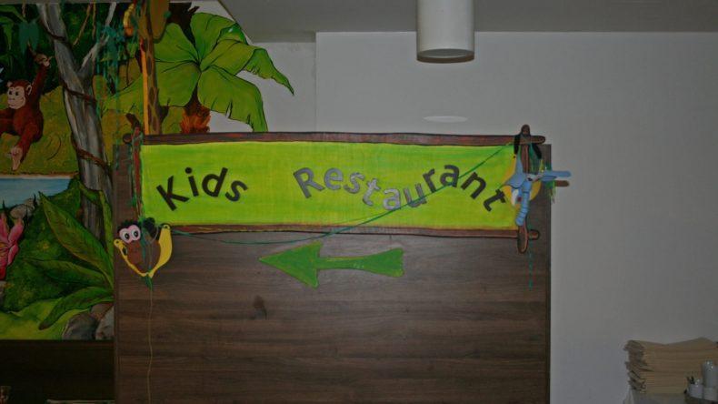 Für Kids gibt es ein eigenes Kinderrestaurant mit Kinderbuffet - speziell ausgerichtet auf die Bedürfnisse der Kleinen