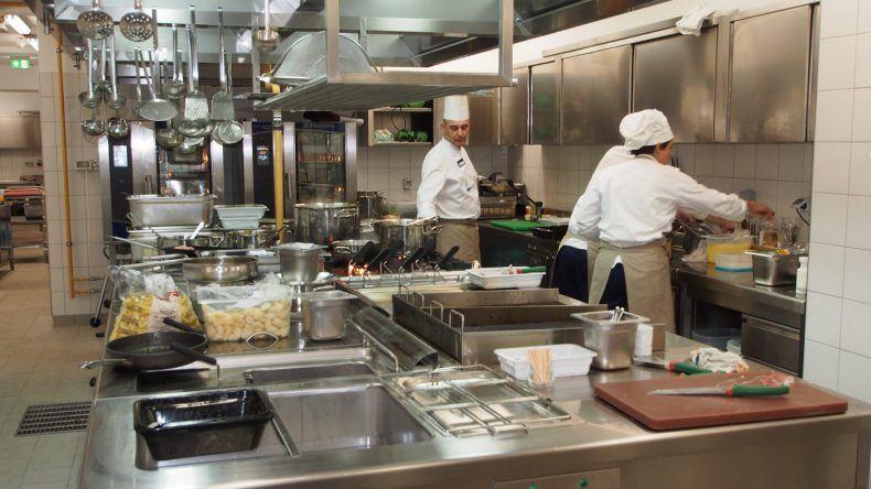 Ein Blick hinter die Kulissen: Die Küche des TUI BLUE Jadran