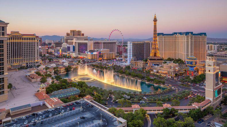 Las Vegas Flitterwochen Ziele