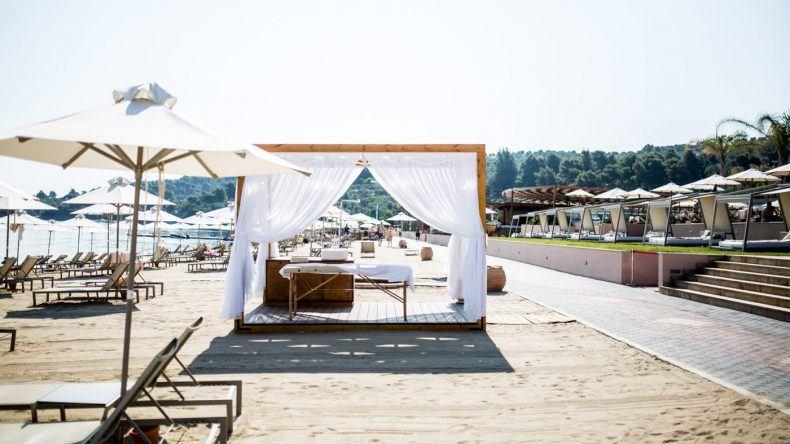 Massage am Strand gefällig?