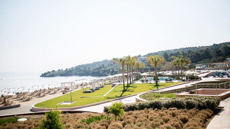 Die Anlage des Miraggio Thermal Spa Resorts ist sehr naturbelassen