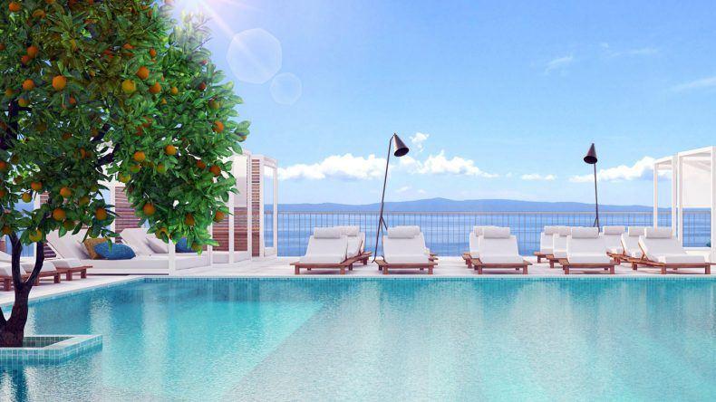 Terrassenpool des TUI BLUE Jadran (Modellbild)