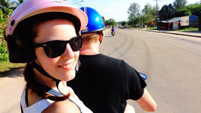 Roller fahren auf Ko Lanta
