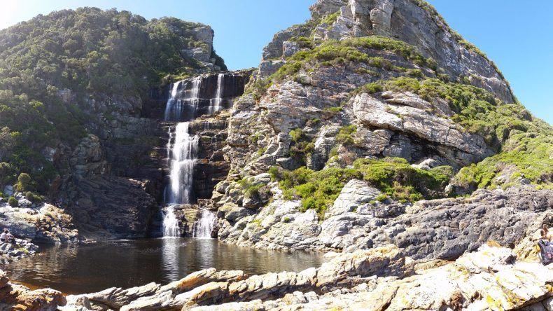 Wasserfall im Tsitsikamma National Park