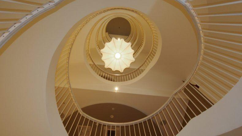 Alle 161 Zimmer und Suiten sind auf 7 Etagen verteilt