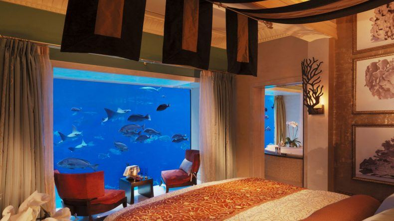 Unterwasser Hotel Dubai: Atlantis The Palm Signature Suite